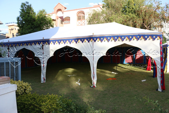 Exclusive Swiss Cottage Tent