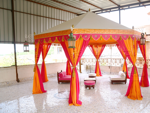 Handcrafted Raj Tent